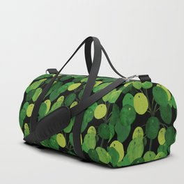 Black Pliea Peperonioides interior plant Duffle Bag