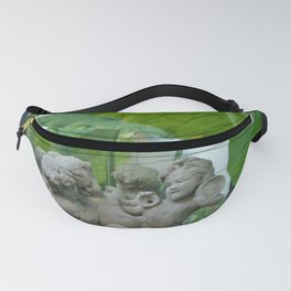 Cherubs at Play in the Garden Fanny Pack