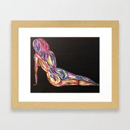 Color Me Bad No. 3 Framed Art Print