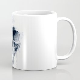 Inkblot skull Coffee Mug