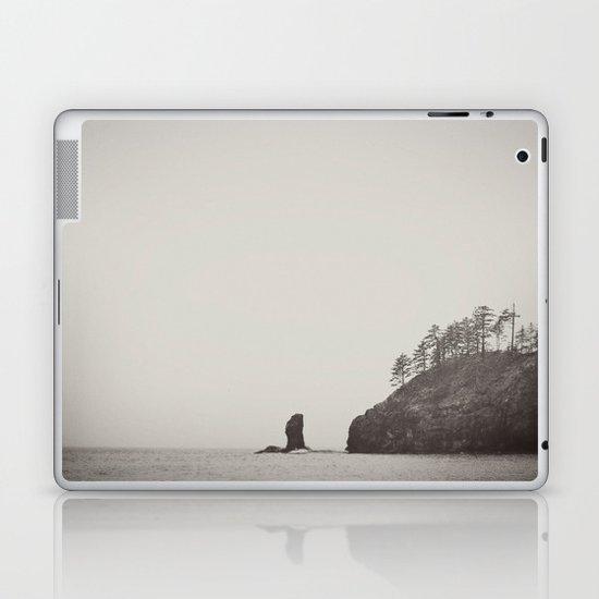 Beach Black and White Laptop & iPad Skin