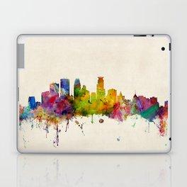 Minneapolis Minnesota Skyline Laptop & iPad Skin
