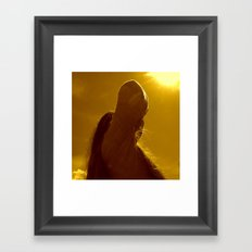 This is the birthday of the sun Framed Art Print
