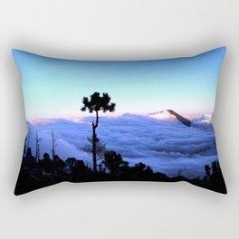 Cloud Ocean - Volcan De Agua Rectangular Pillow
