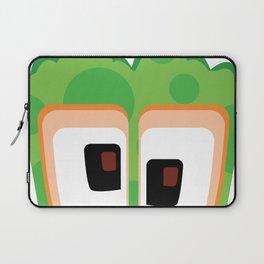 Bubble Beasts: Eerie Eucalyptus Tentacle & Paw Sanitizer Laptop Sleeve