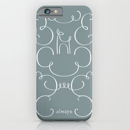 Always Filigree iPhone Case