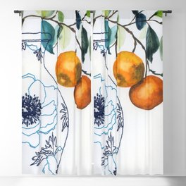 embroided summer Blackout Curtain