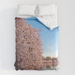 Washington DC Cherry Blossoms Comforters