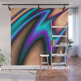 Abstract Fractal Colorways 03 Southwestern Wall Mural
