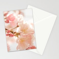 Cherry Bokeh Stationery Cards