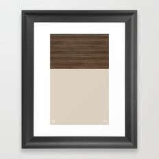 Modern Minimal Collection / Light Framed Art Print