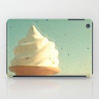 ice cream iPad Cases featuring Ice Cream by Cassia Beck