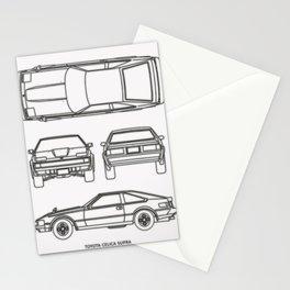 Celica XX Supra Stationery Cards