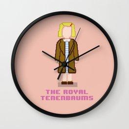 Margot Tenenbaum 8 bits Wall Clock