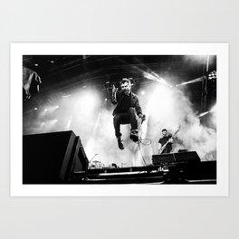 Damon Albarn (Blur) - I Art Print