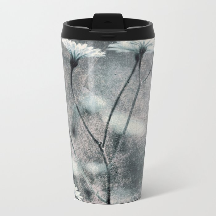 FLOWERS#97 Metal Travel Mug