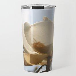 White Magnolia Travel Mug