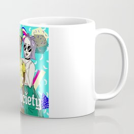 Au Pair Society logo with text - square Coffee Mug