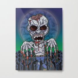 Full Moon Kevin Metal Print