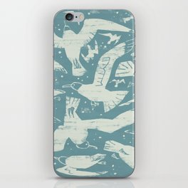 Migrating Gulls iPhone Skin