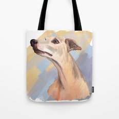 Whippet face Tote Bag