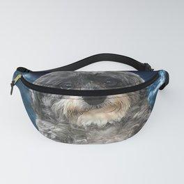 Dog Poodle Cross Fanny Pack