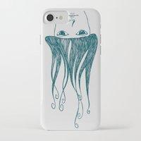 swim iPhone & iPod Cases featuring swim by Aleksandra Salevic