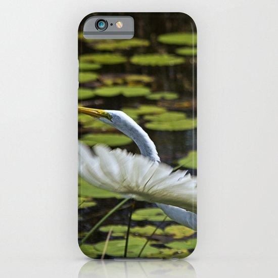 Egret Take Off iPhone & iPod Case