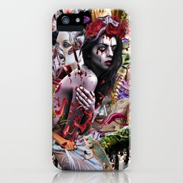 Lilith-Tiamat (Chaos Reigns) iPhone Case