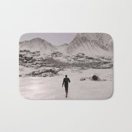 Final Fantasy XV - Prompto walking in the Snow Bath Mat