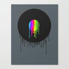 Simply Melting Away #2 Canvas Print