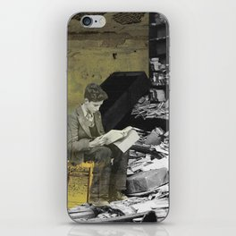 Reader iPhone Skin