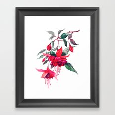 Briar Framed Art Print