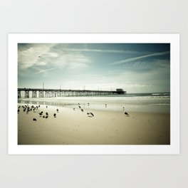 Summer Idyll Art Print