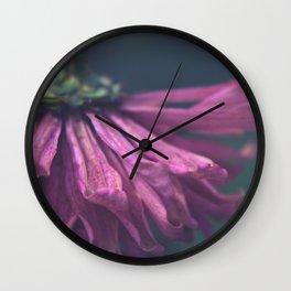 Plucking Petals Wall Clock