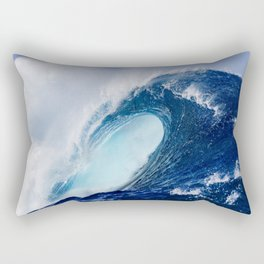 Big Blue Wave Rectangular Pillow