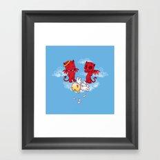 Bullies Framed Art Print