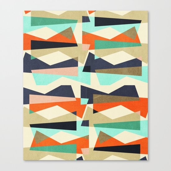 Fragments V Canvas Print