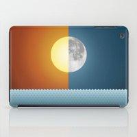 sun and moon iPad Cases featuring Sun & Moon by Angelina Fenty