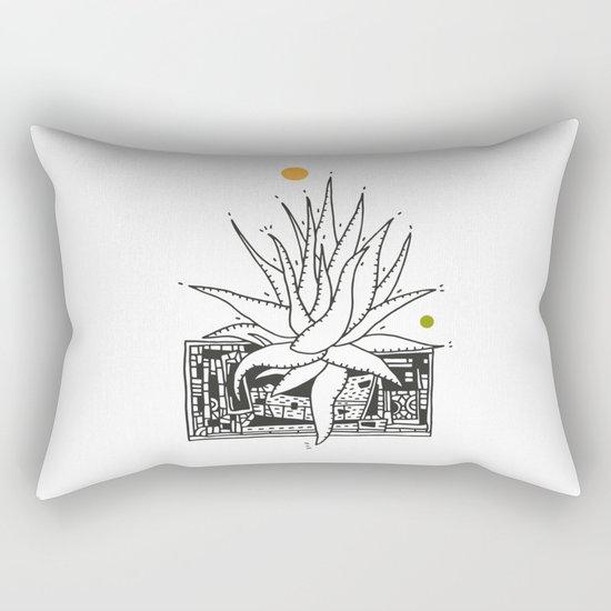 Agave II Rectangular Pillow