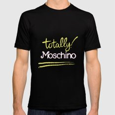 Totally Moschino Black MEDIUM Mens Fitted Tee Black