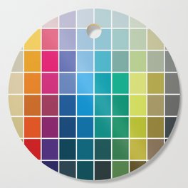 Colorful Soul - All colors together Cutting Board