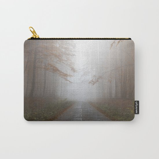 Forest Walk #fog Carry-All Pouch
