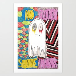 notalent//shameless -together- Art Print