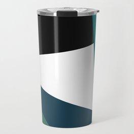 Modern geometry 3 Travel Mug