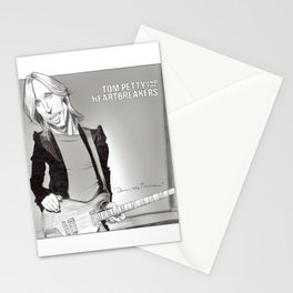 Tom Petty Caricature Stationery Cards