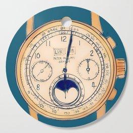 Old Watch Cutting Board