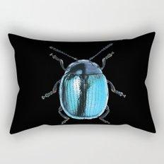 Insecte blue métal colors fashion Jacob's Paris Rectangular Pillow