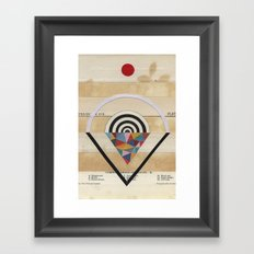 Prism Framed Art Print