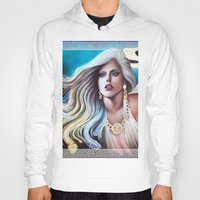 versace Hoodies featuring VERSACE GODDESS by CARLOSGZZ